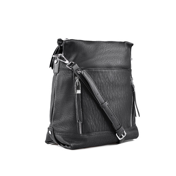 Leather Tote. Black Handbag. Leather Black Hobo.